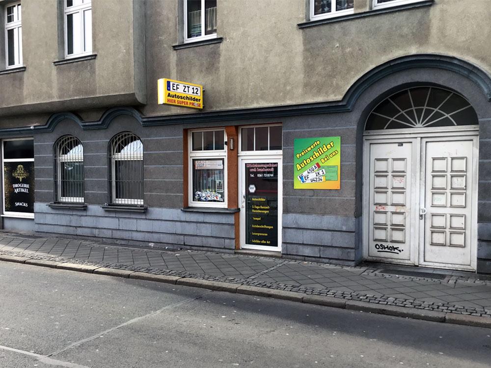 Schilder Service und Zulassungen Erfurt