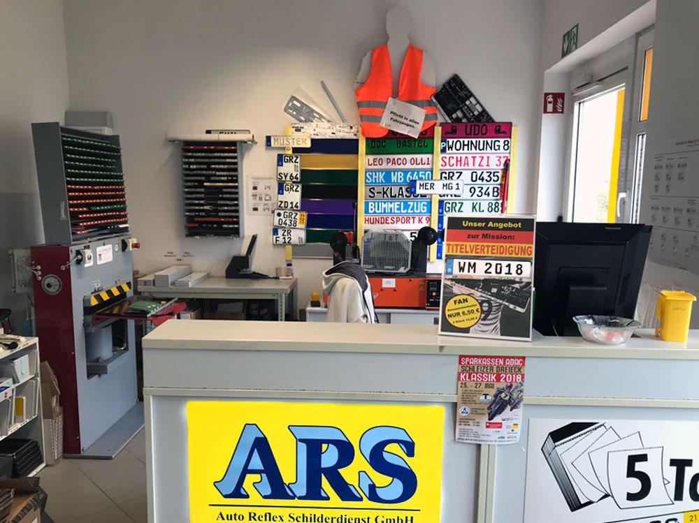 Autoschilder & Zulassungen ARS Weida