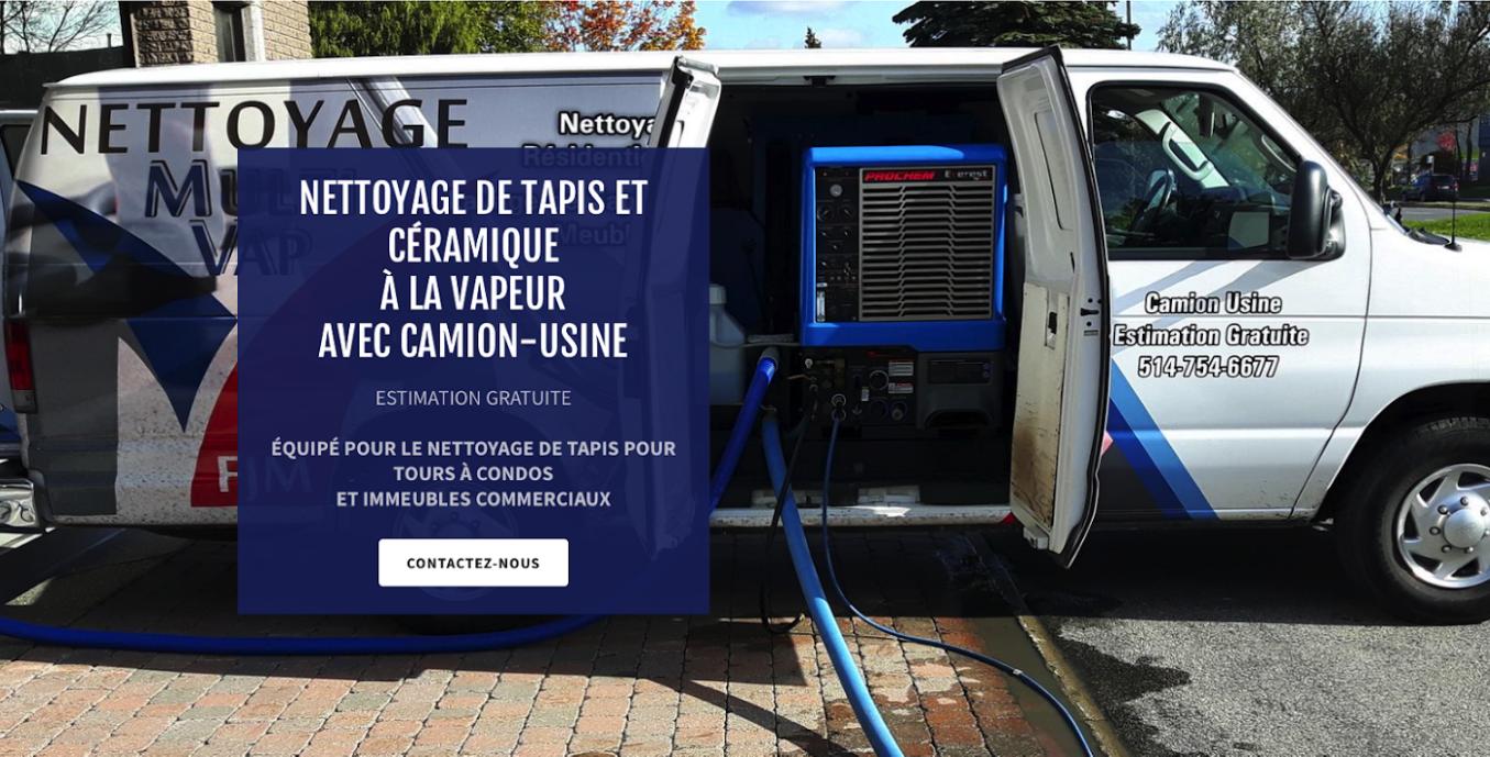 Nettoyage Multivap - Nettoyage Commercial de Tapis et Céramique - Laval