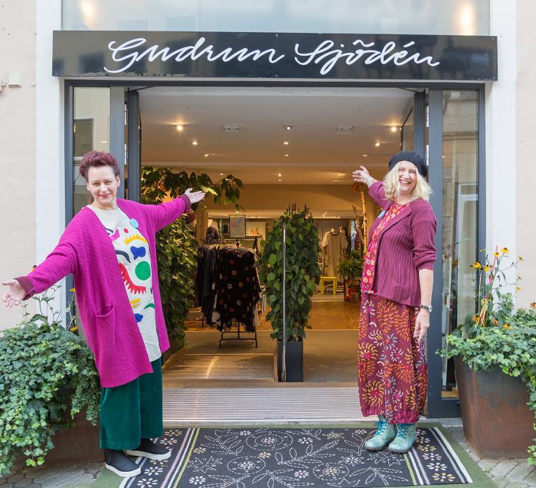 Gudrun Sjödén Konzeptladen, Josephsplatz in Nürnberg