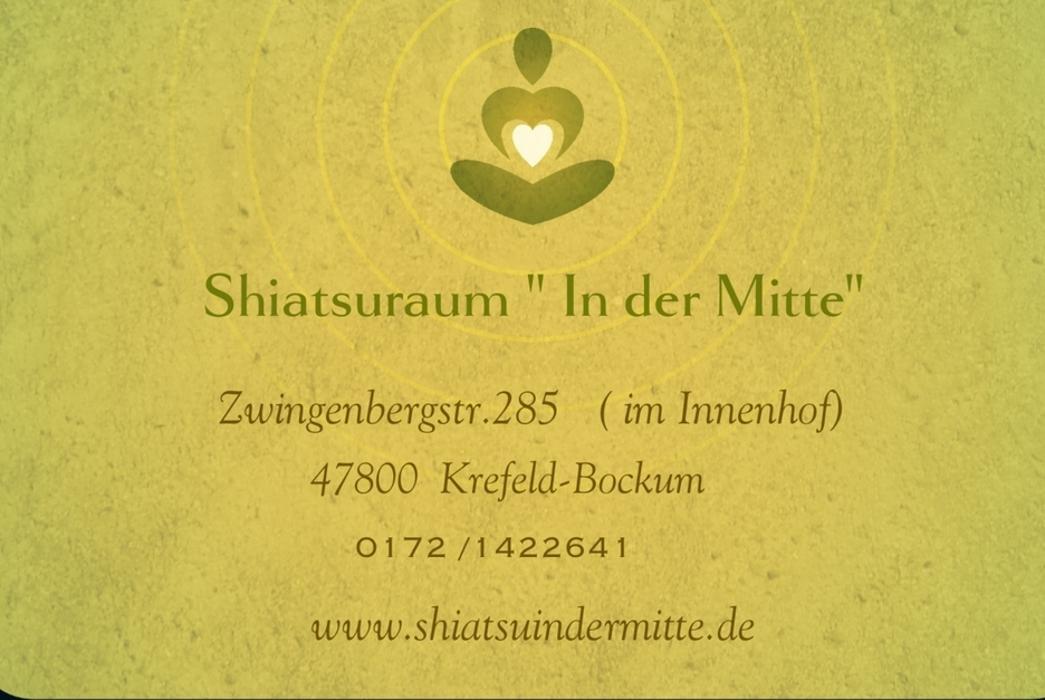 "Bild zu Shiatsuraum ""In der Mitte"" in Krefeld"