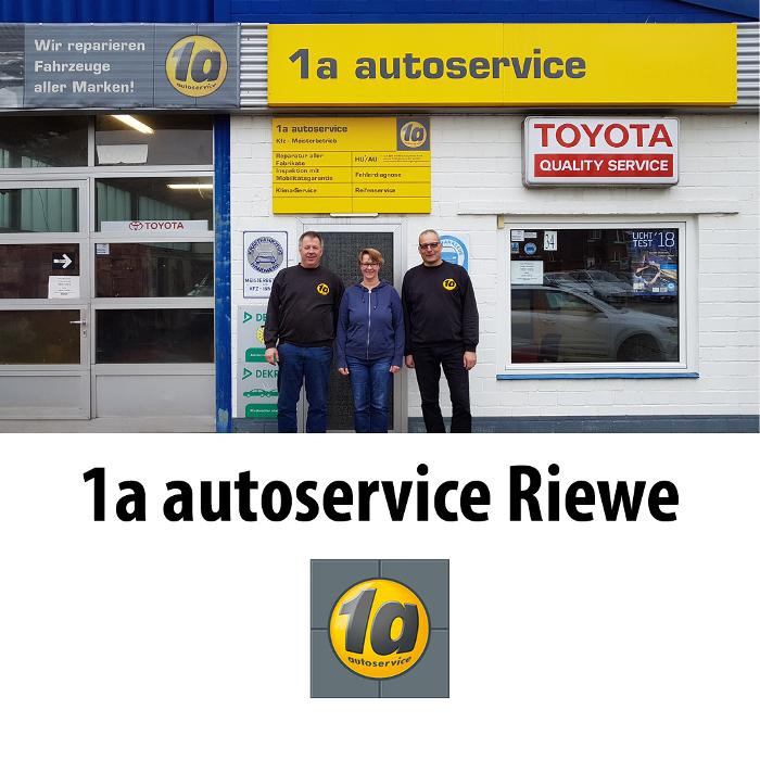 Bild zu 1a autoservice Riewe, Martin Hausmann e.K. in Korschenbroich