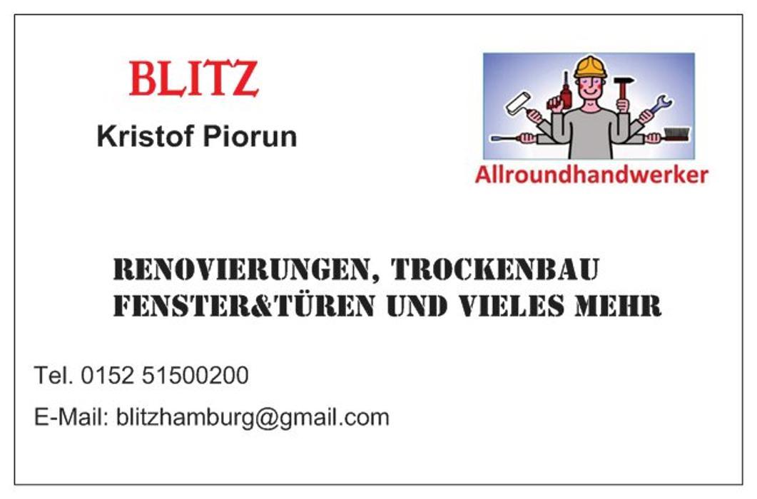 Bild zu BLITZ ALL ROUND HANDWERKER in Schenefeld Bezirk Hamburg