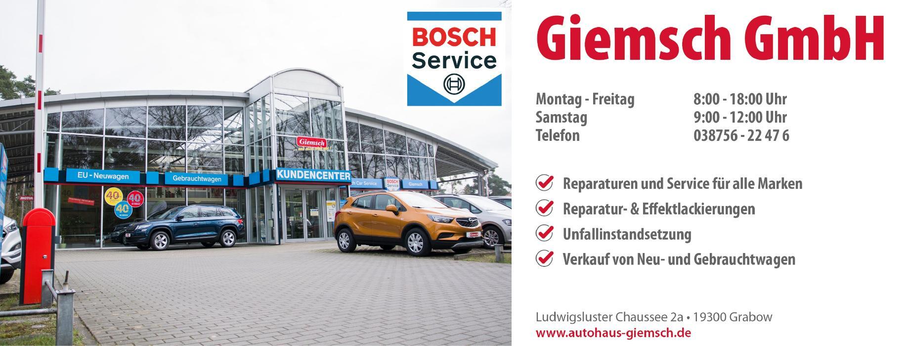 Bild zu Giemsch GmbH Autolackiererei & Kfz-Service in Grabow in Mecklenburg