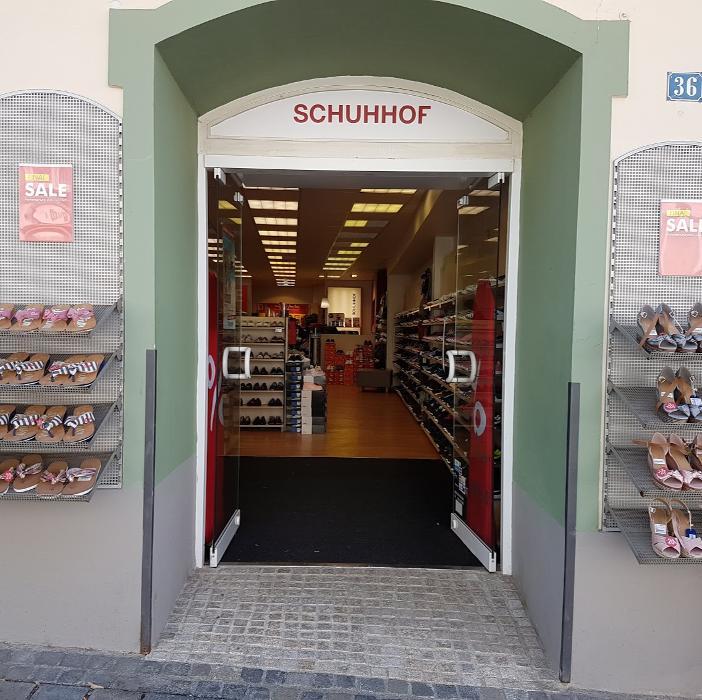 Schuhhof • Bad Tölz, Marktstraße 36 Öffnungszeiten & Angebote