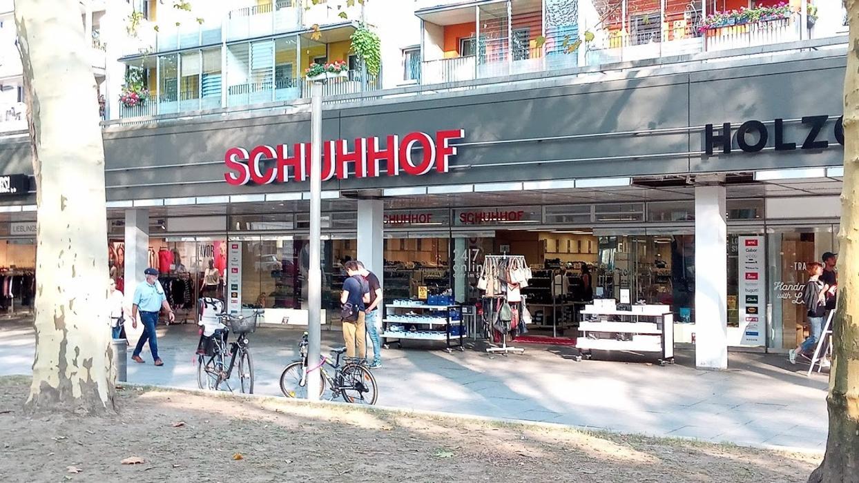 Schuhhof, Hauptstraße in Dresden