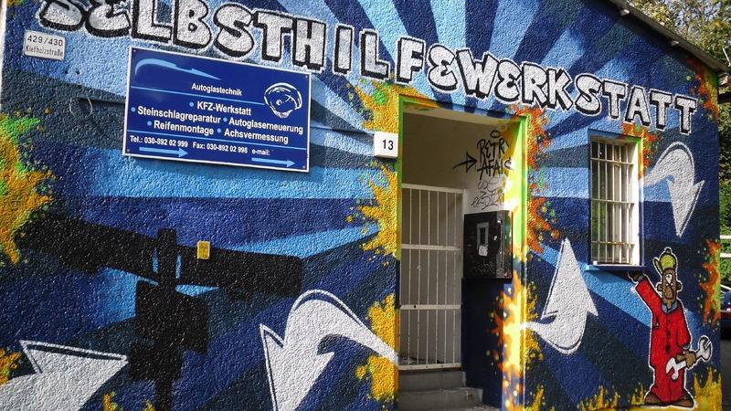 Bolich KFZ-Selbsthilfewerkstatt, Bouchéstraße in Berlin
