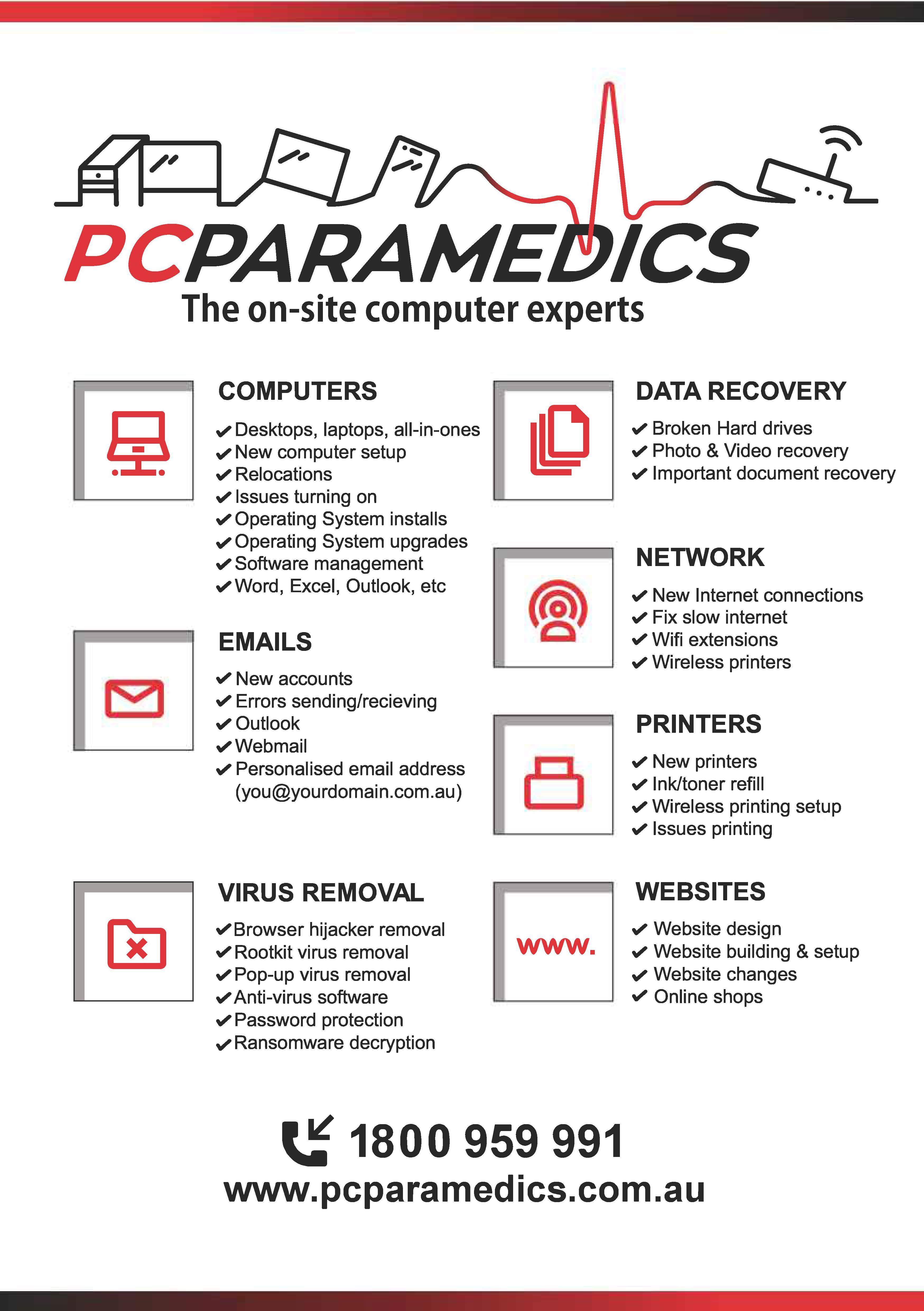 PC Paramedics - Griffin, QLD 4503 - 1800 959 991 | ShowMeLocal.com
