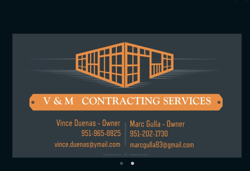 V&M Contracting Services - Riverside, CA 92509 - (951)965-8825 | ShowMeLocal.com