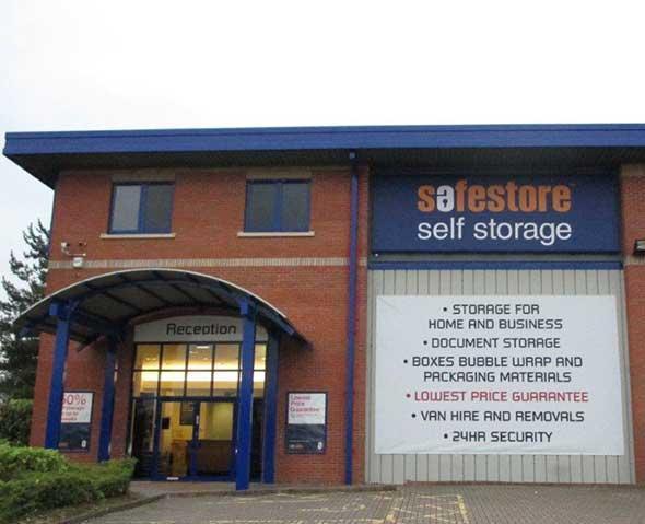 Safestore Self Storage Exeter - Exeter, Devon EX1 3QF - 01392 347238   ShowMeLocal.com