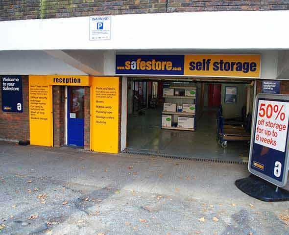 Safestore Self Storage Euston - Camden