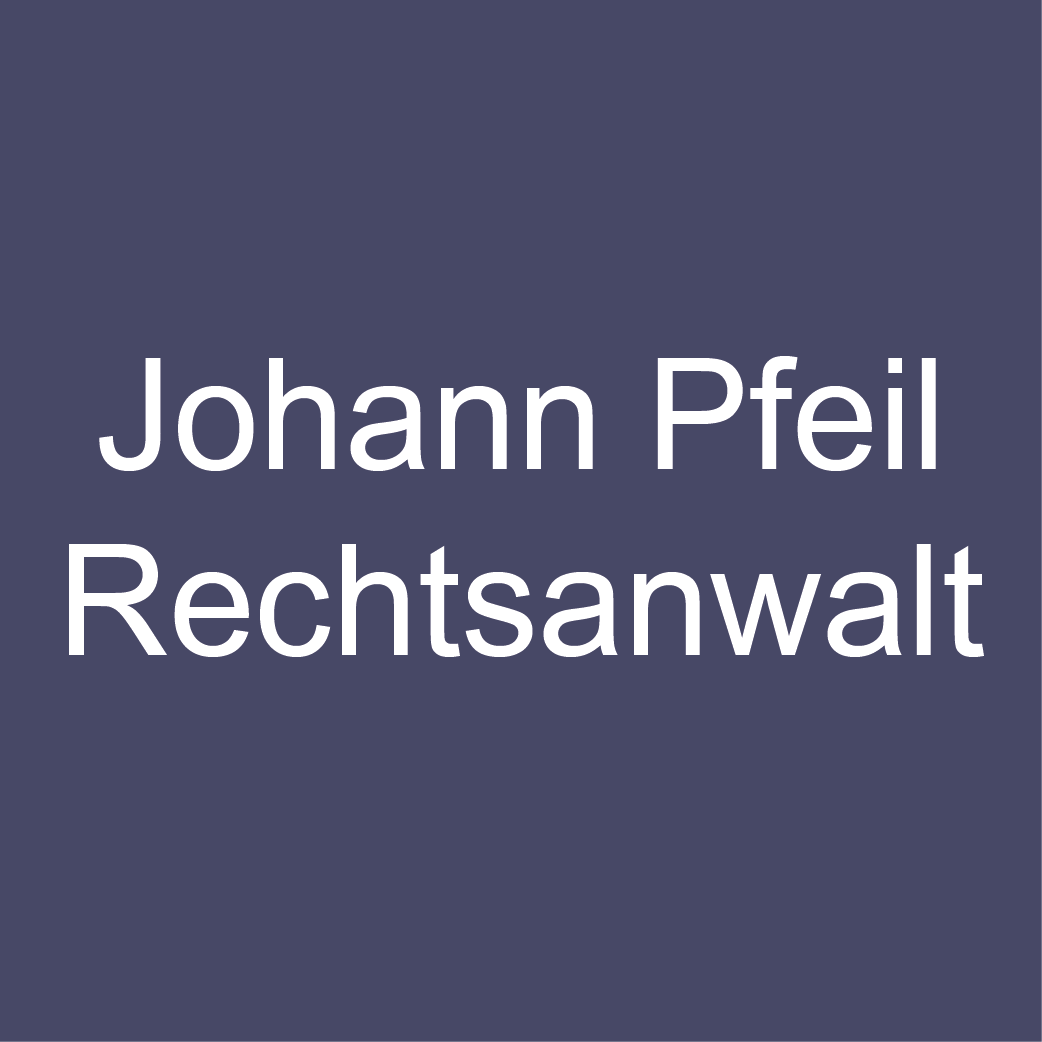 Johann Pfeil Rechtsanwalt