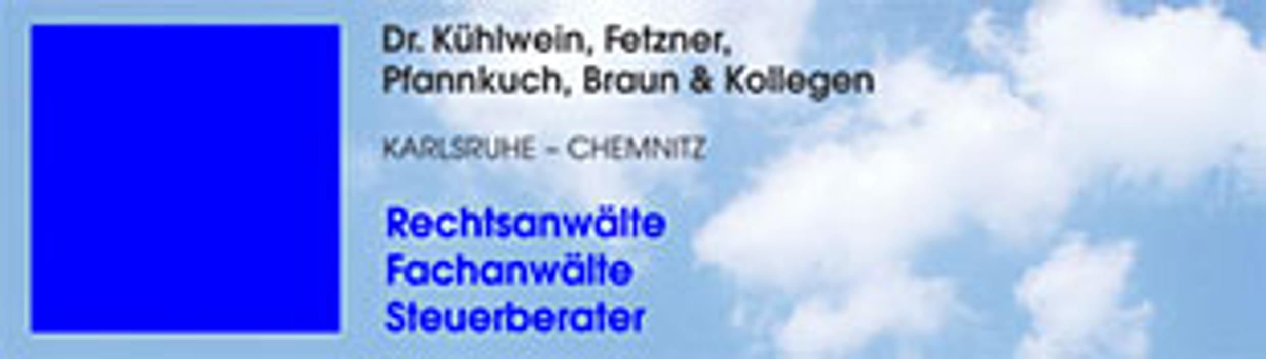 Bild zu Rechtsanwälte Dr. Kühlwein, Fetzner, Pfannkuch & Kollegen in Karlsruhe