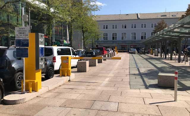 CONTIPARK Parkplatz P & R Salzburg Hauptbahnhof