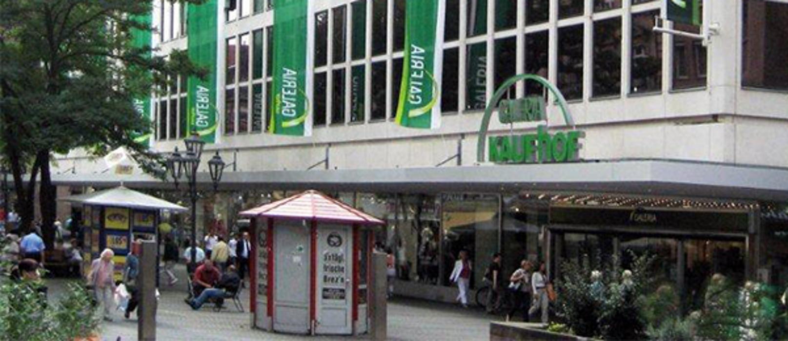 GALERIA (Kaufhof) Nürnberg Königstraße, Königstraße in Nürnberg