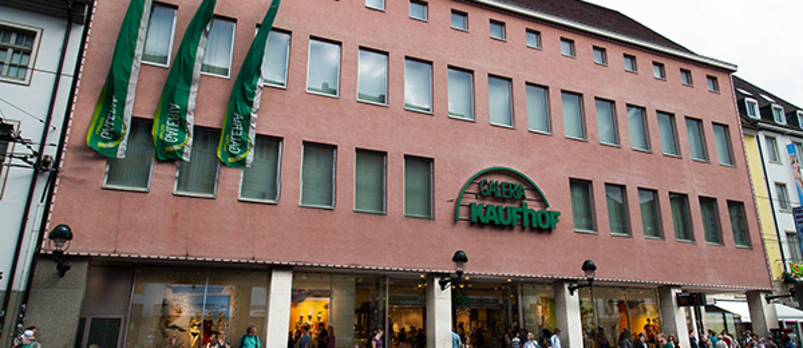 GALERIA (Kaufhof) Freiburg Kaiser-Joseph-Straße, Kaiser-Joseph-Straße in Freiburg