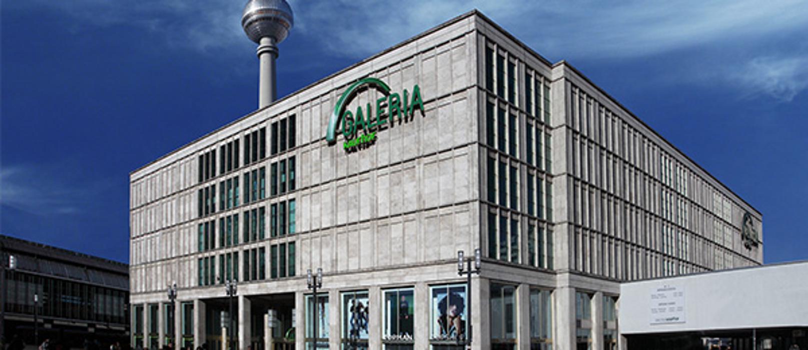 GALERIA (Kaufhof) Berlin Alexanderplatz, Alexanderplatz in Berlin