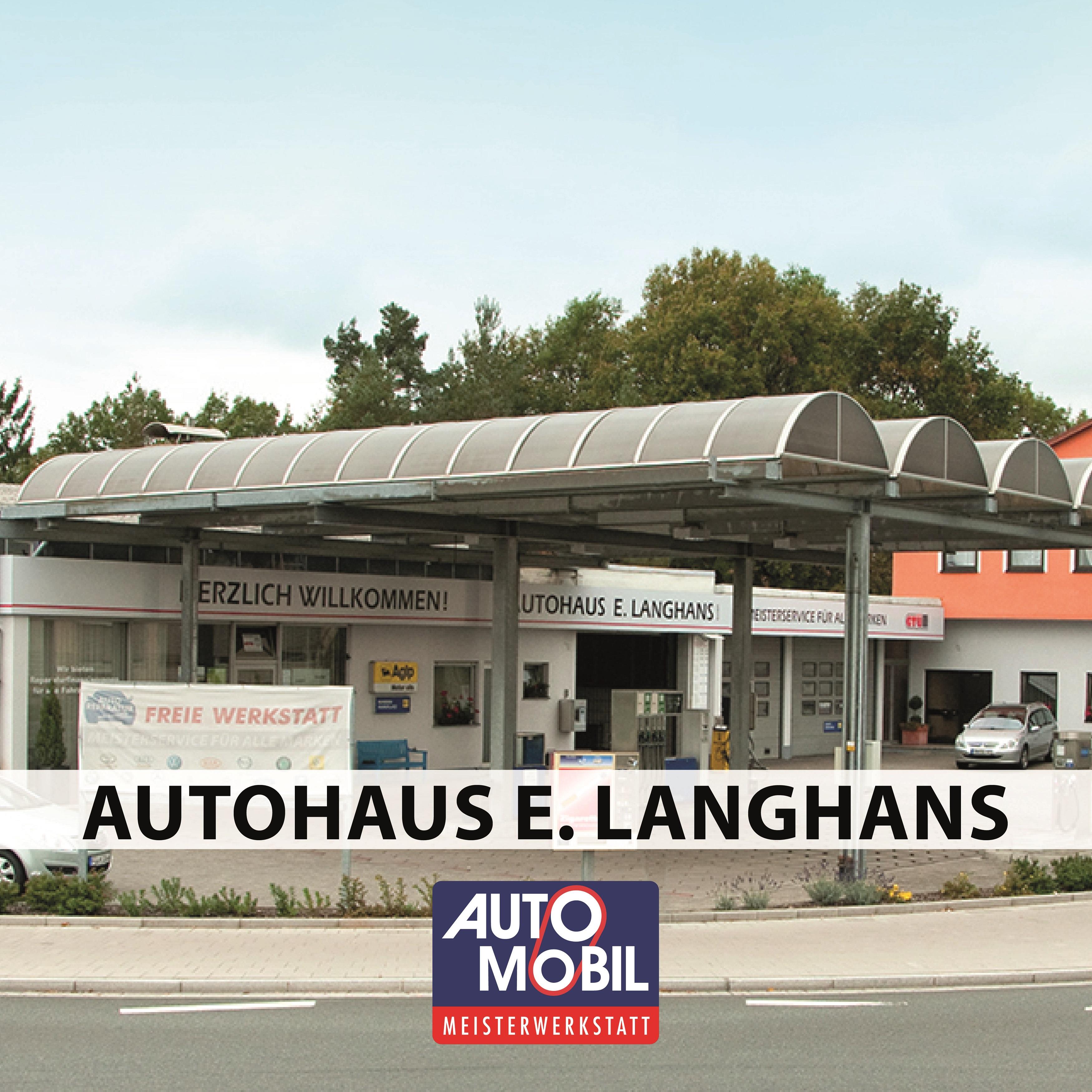 Autohaus E. Langhans GmbH Logo