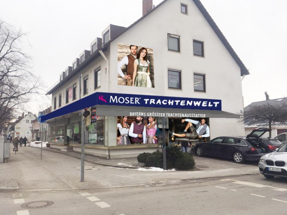 MOSER Trachten, Wasserburger Landstraße in München