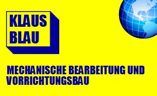 Klaus Blau - Mechanische Bearbeitung und Vorrichtungsbau