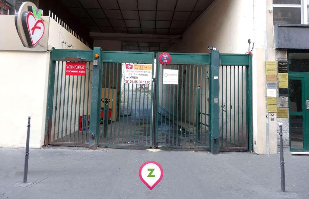 Zenpark - Parking Paris - Bastille - Roquette Extérieur