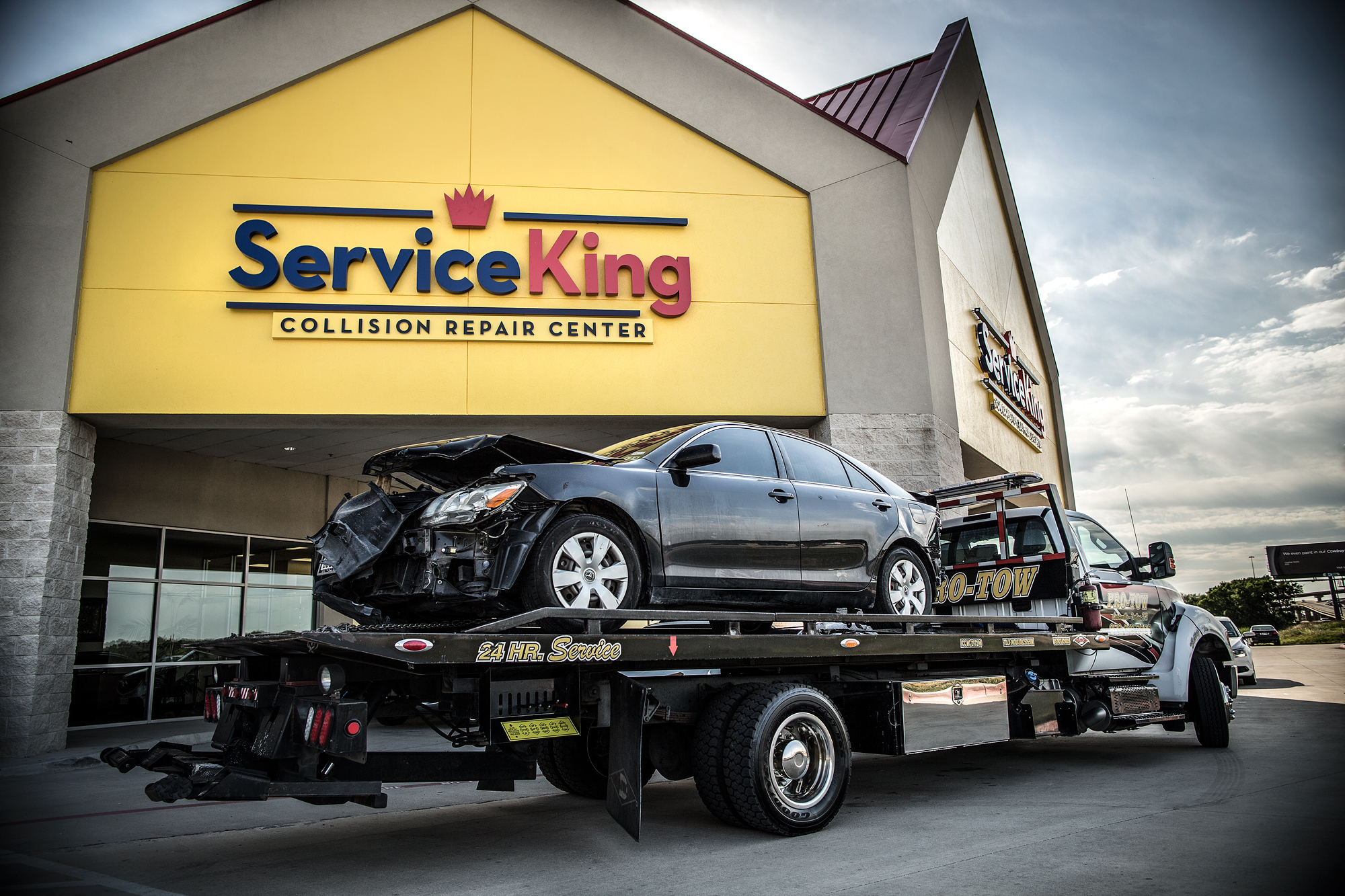 Service King Collision Bellaire