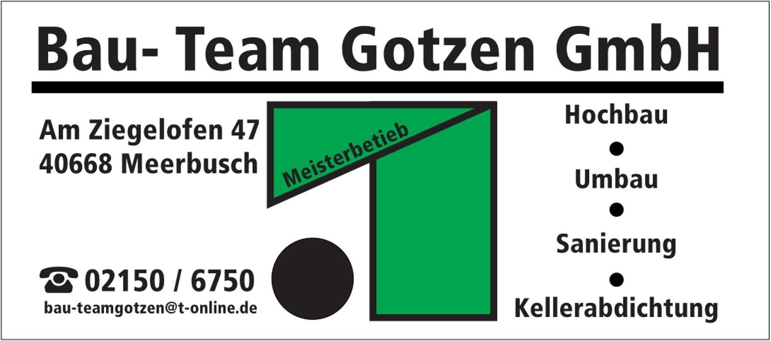 Bild zu Bau- Team Gotzen GmbH in Meerbusch