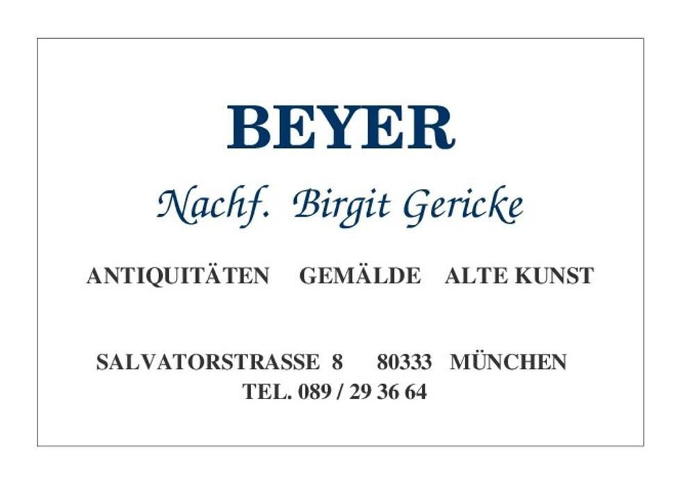 Bild zu Antiquitäten Beyer Nachf. Birgit Gericke in München
