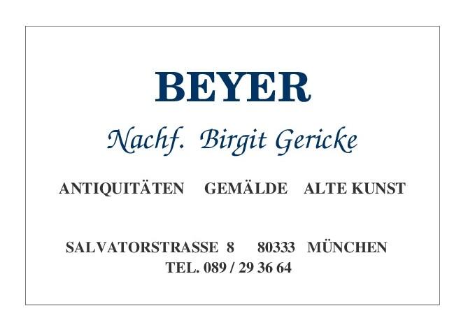 Antiquitäten Beyer Nachf. Birgit Gericke Logo