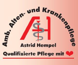 Ambulante Alten- und Krankenpflege Astrid Hempel Logo
