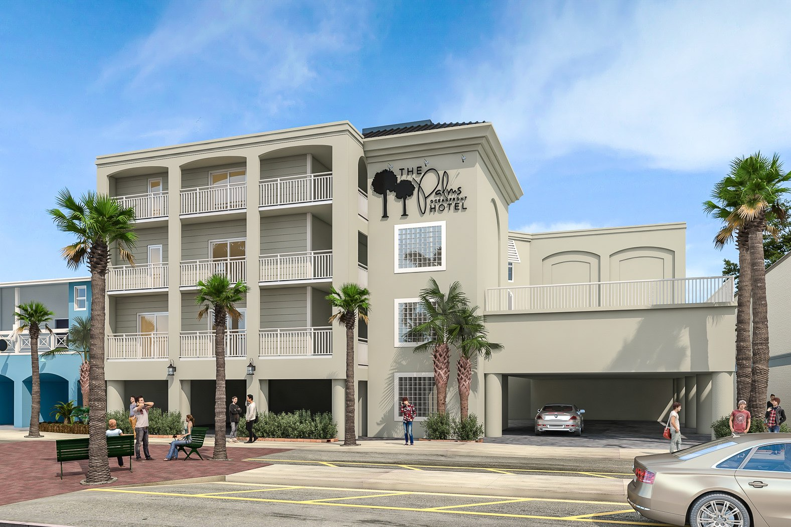 The Palms Oceanfront Hotel - Isle of Palms, SC 29451 - (888)484-9004 | ShowMeLocal.com