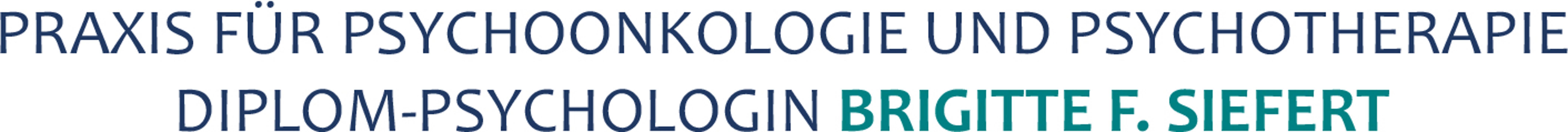 Bild zu Praxis für Psychoonkologie und Psychotherapie Brigitte F. Siefert in Gelsenkirchen