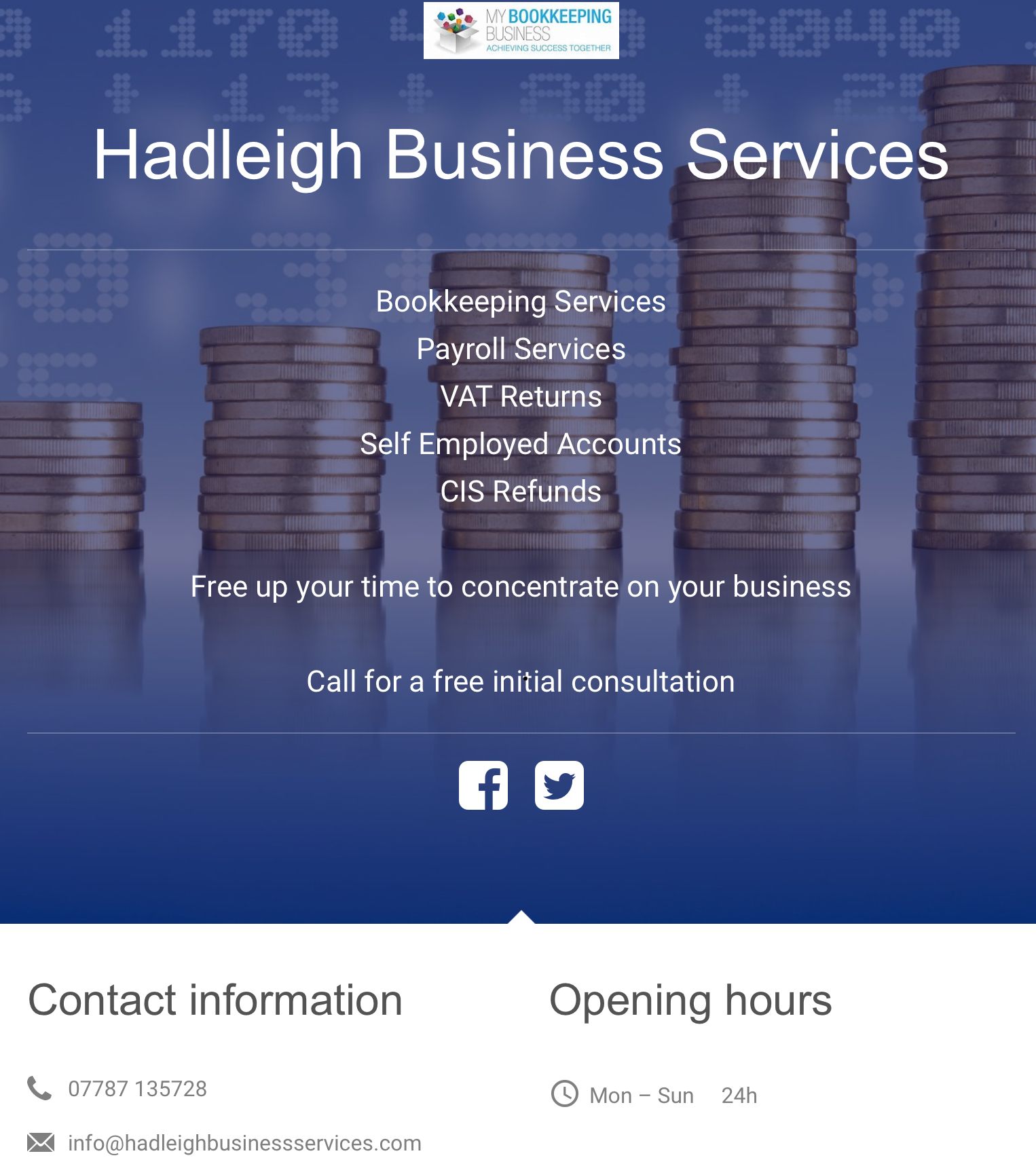 Hadleigh Business Services - Exeter, Devon EX4 3AG - 07787 135728 | ShowMeLocal.com