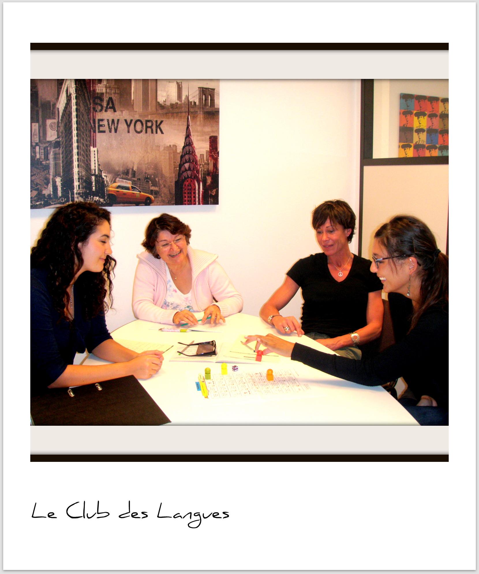 LE CLUB DES LANGUES
