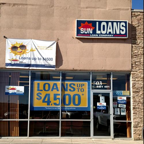 Sun Loan Company Gallup Nm 87301 505 722 3533 Showmelocal Com