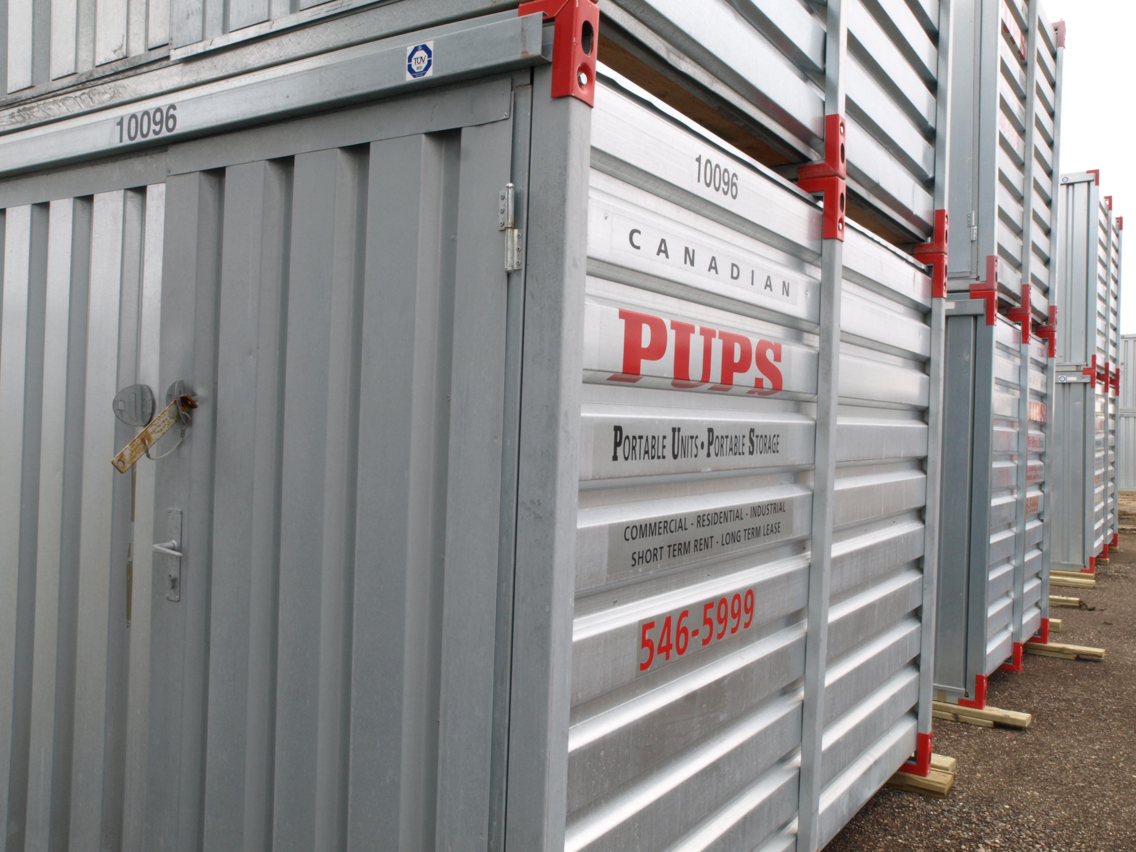 Canadian PUPS Portable Storage - Toronto