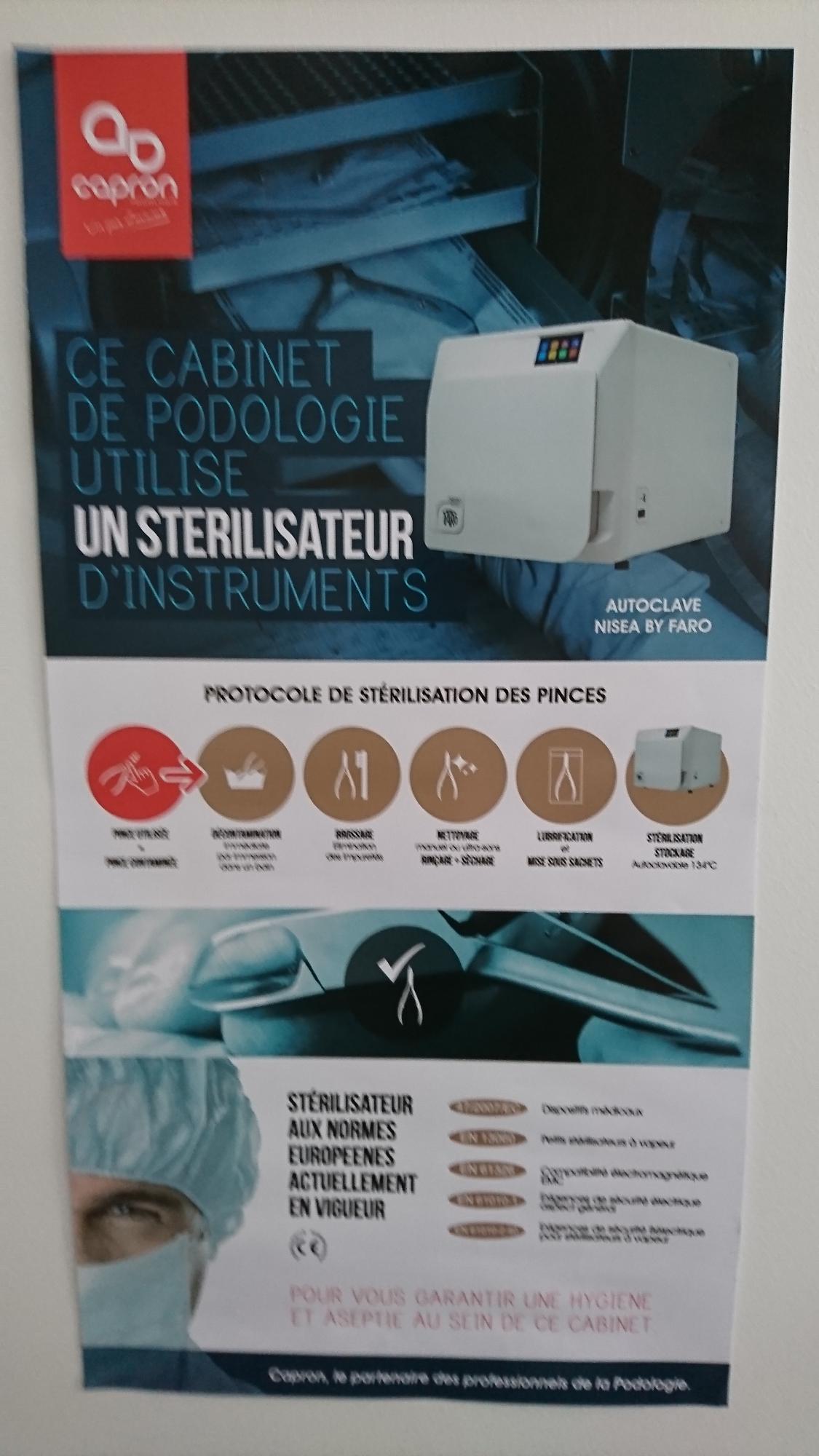 Cabinet de pédicurie-podologie Courcelles