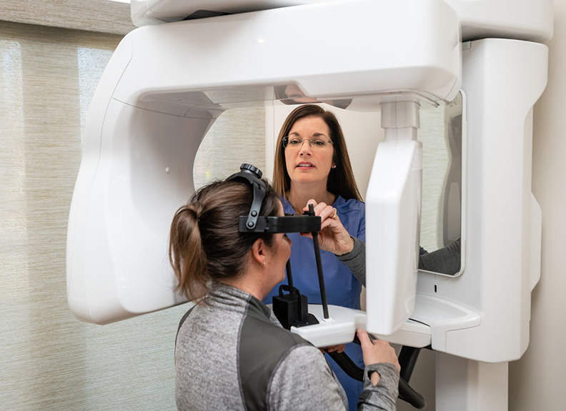 Costello Dental Excellence patient 3-D scanner
