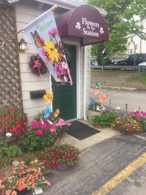Flowers By The Station
