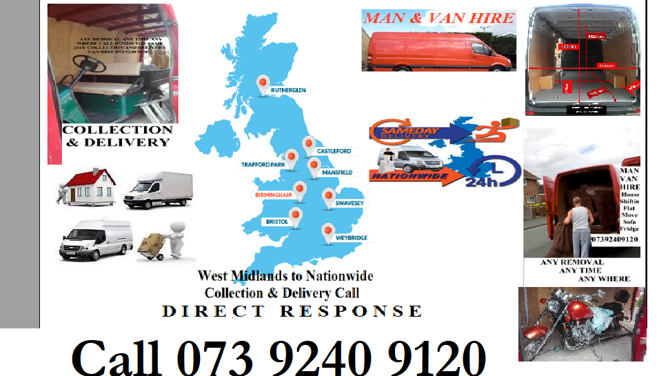 Collection & Delivery Long Haulage Man Van Hire UK - England, Northamptonshire  - 07392 409120 | ShowMeLocal.com