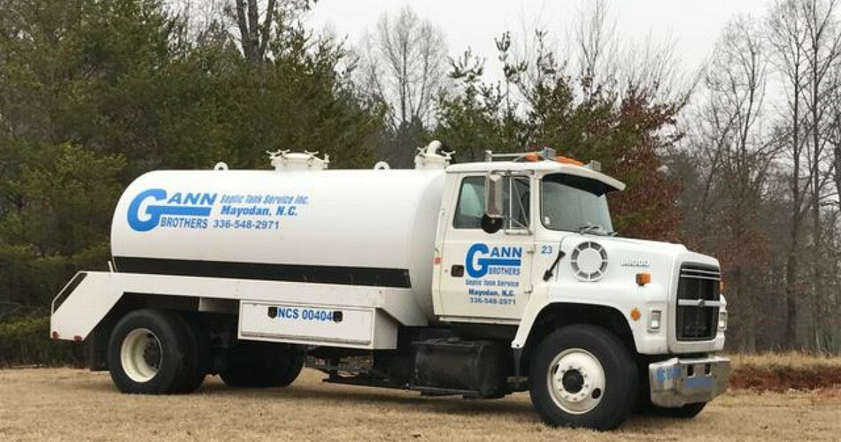 Gann Brothers Septic Tank Service