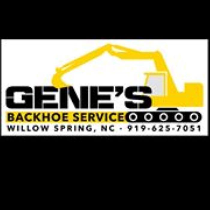 Gene's Backhoe Service Inc