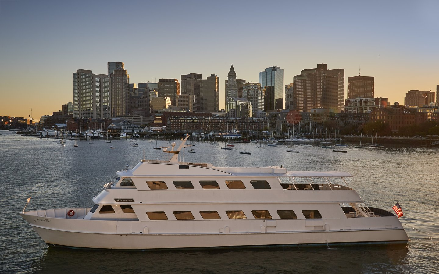 Boston Elite Private Yacht Charter