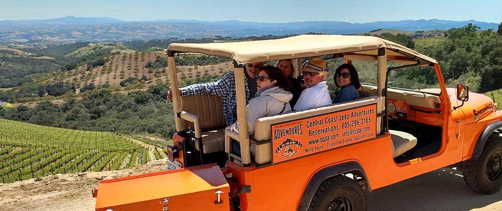 Central Coast Wine Tour Adventures