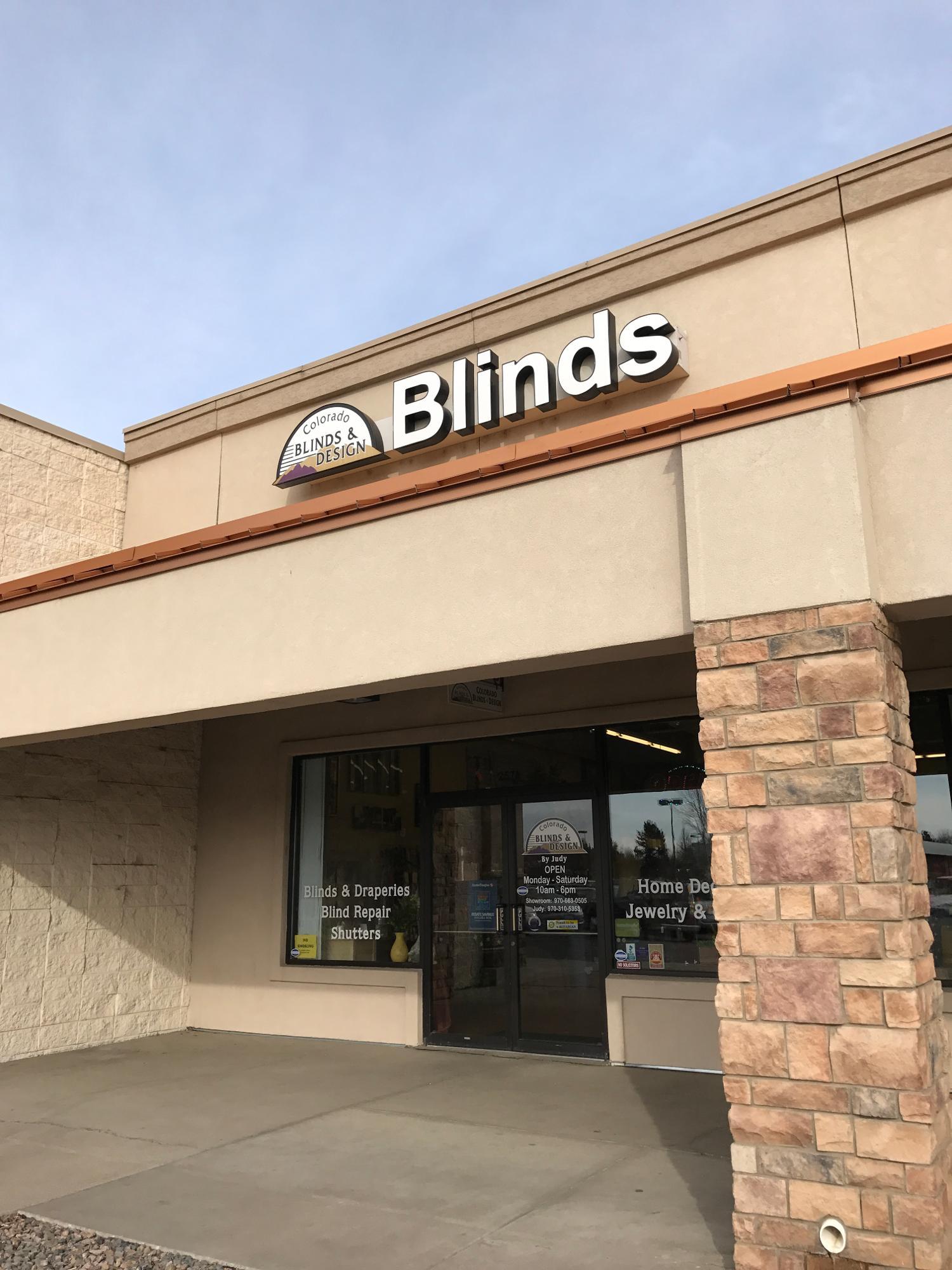 Colorado Blinds & Design Loveland (970)663-0505