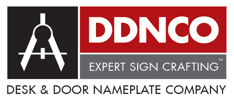 Desk & Door Nameplate Company
