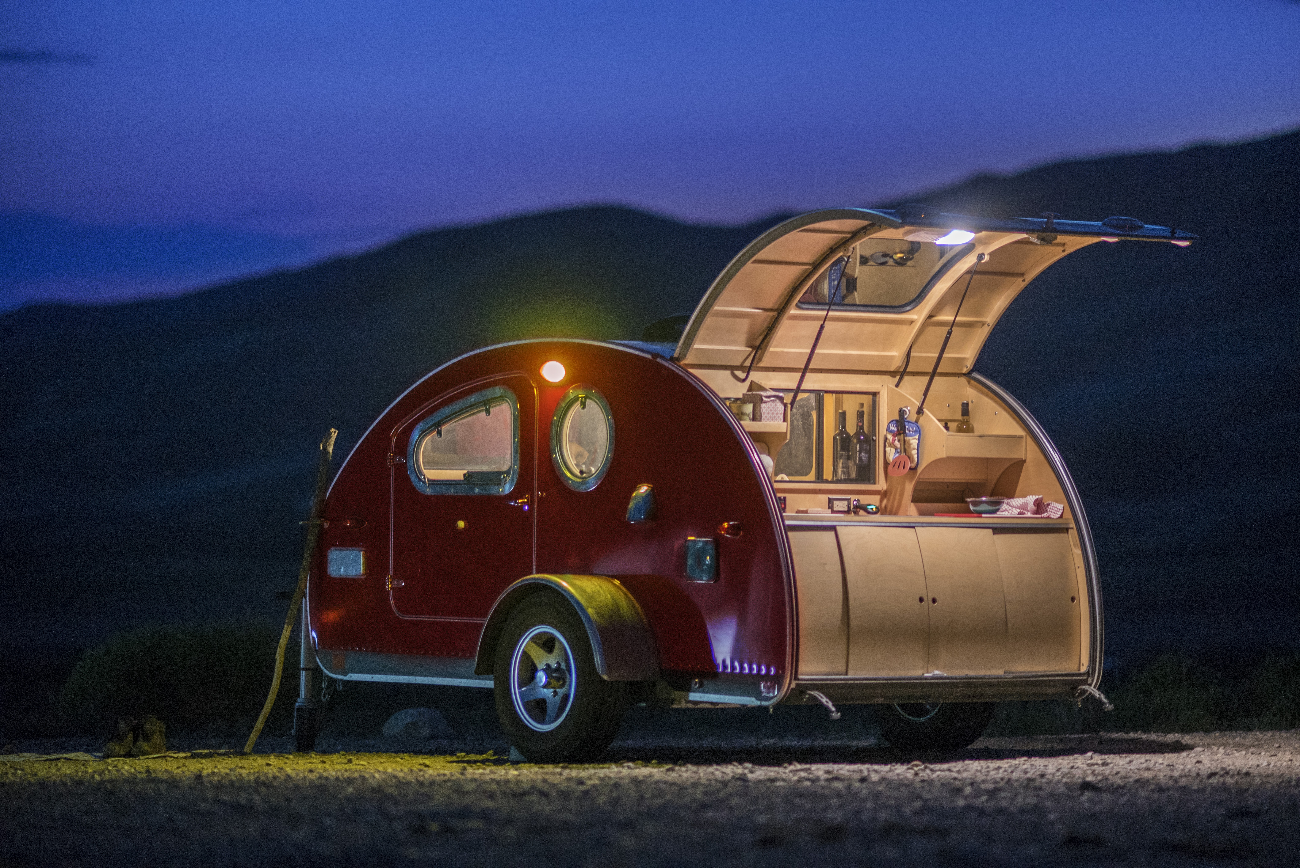 Vistabule Teardrop Trailers