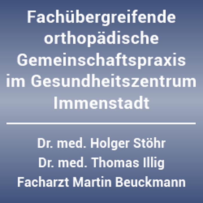 Bild zu Dr. med. Holger Stöhr; Dr. med. Thomas Illig, Herr Martin Beuckmann in Immenstadt im Allgäu