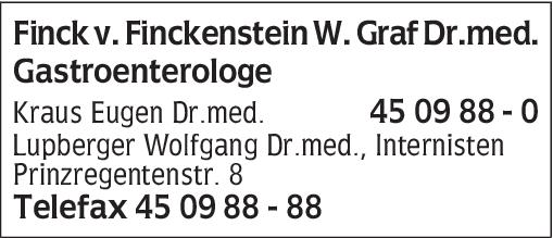 Dr. med. Wolfram Graf Finck von Finckenstein