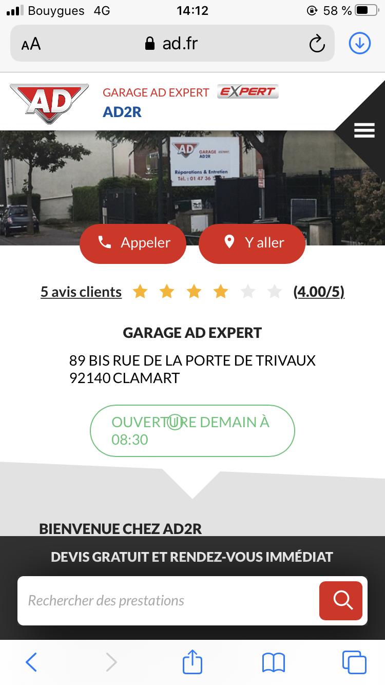 GARAGE AD EXPERT AD2R
